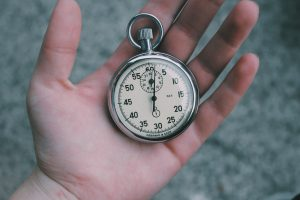 stopwatch that you will need for drug testing process