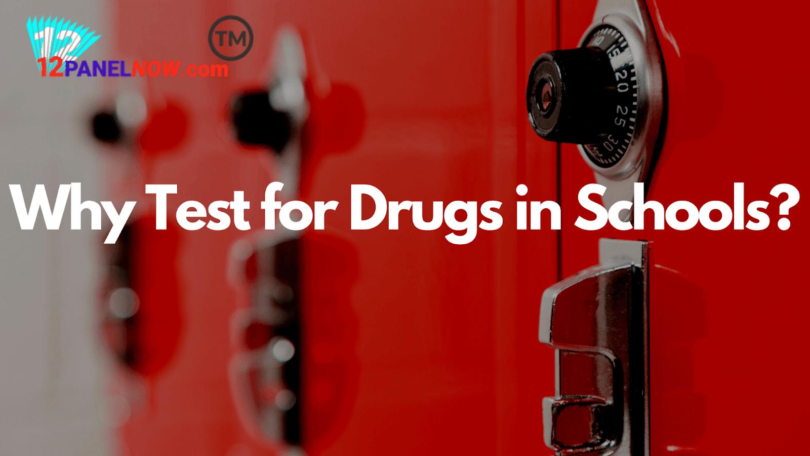 When Did Drug Testing Start in Schools?