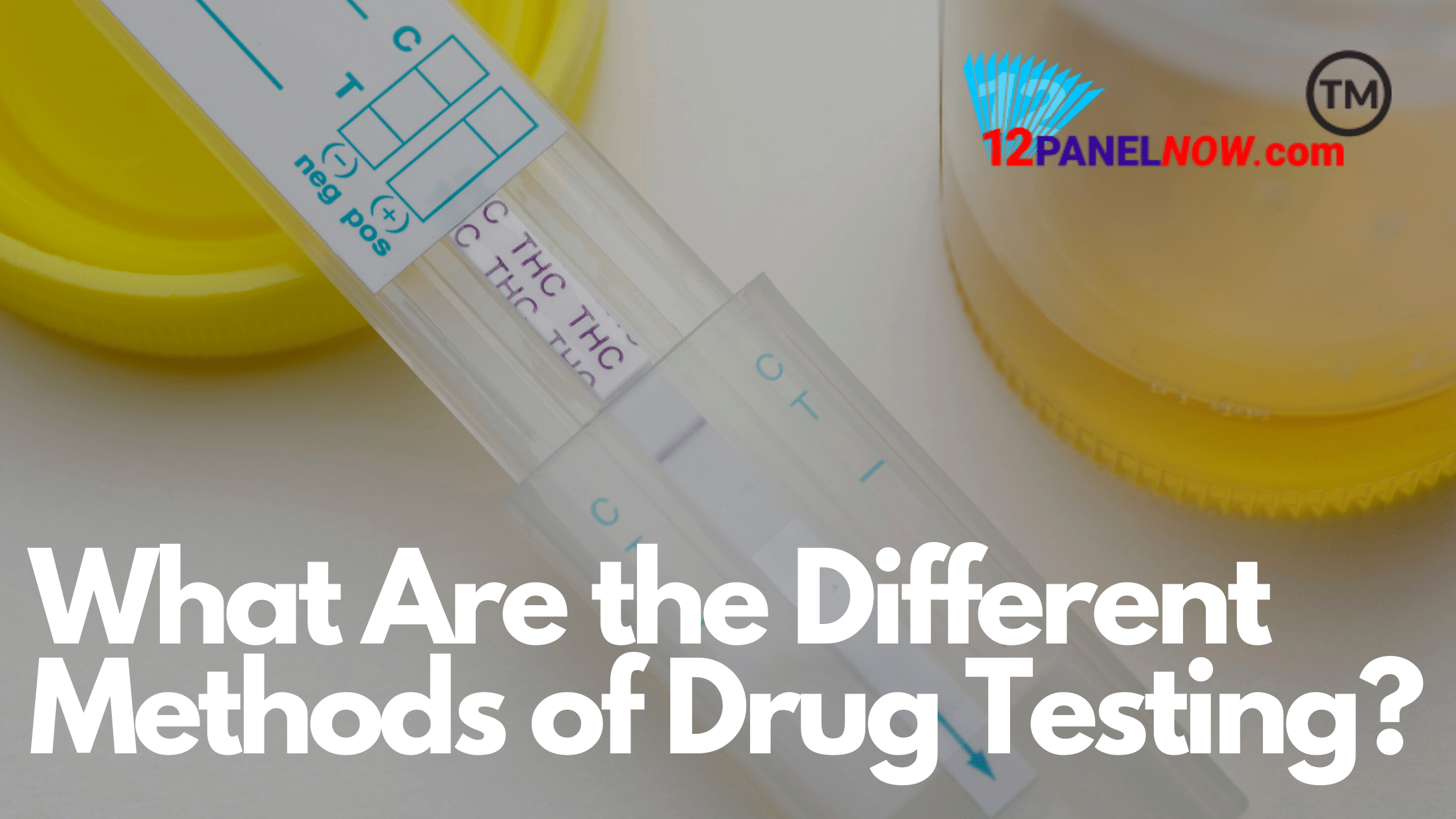What Are the Different Methods of Drug Testing?