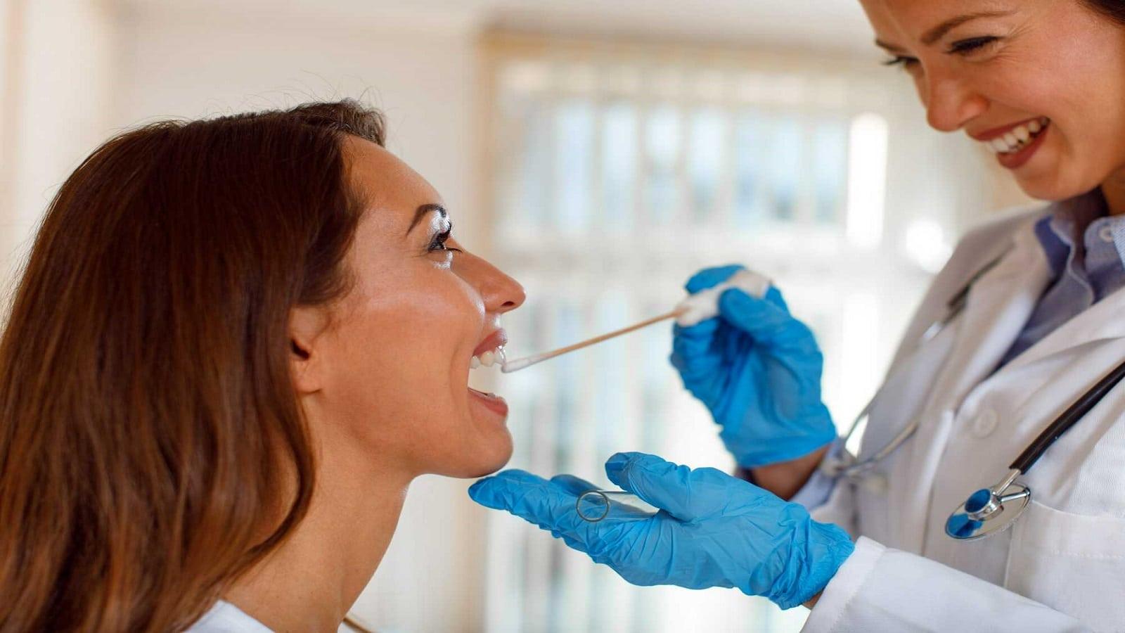 Oral swab drug tests