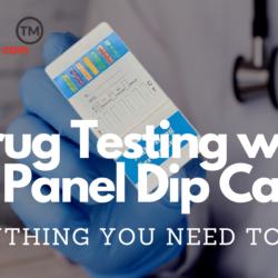 Drug Testing with 13 Panel Urine Dip Drug Test